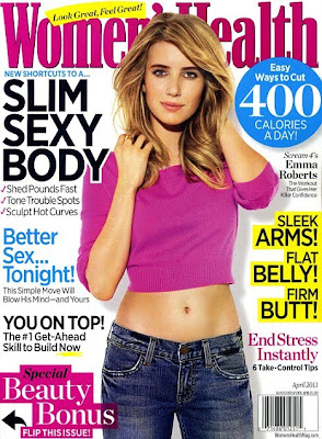 Emma Roberts Women's Health Cover