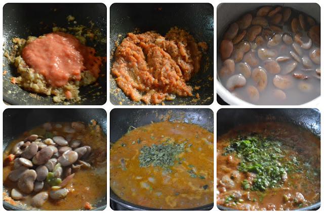 double beans masala