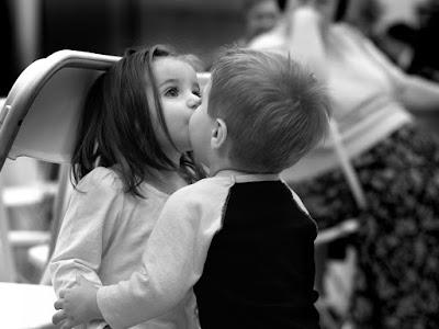 fotos de romanticas de niños