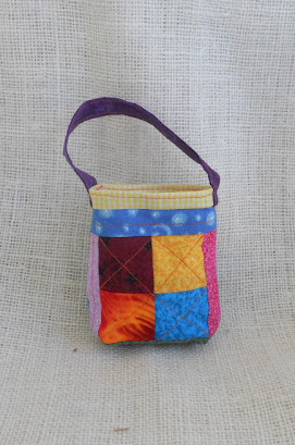 Mini Patchwork Gift Bags-$5.00