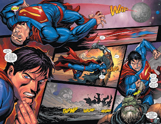 Comic frontline in the middle of the battle the rest of the pax galactica arrives ending the fight and informing superman and straith that a threat greater than eer fandeluxe Choice Image