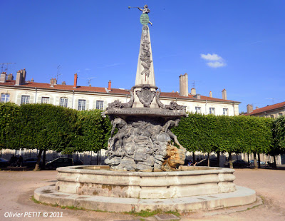 NANCY (54) - Place de l'Alliance : la Fontaine