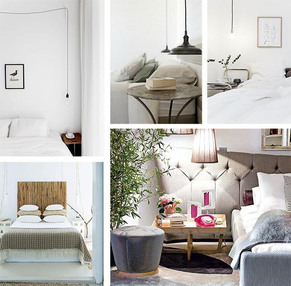 Las mejores ideas para decorar el dormitorio decorar tu - Lamparas para dormitorios ...