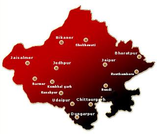 Rajasthan Map2