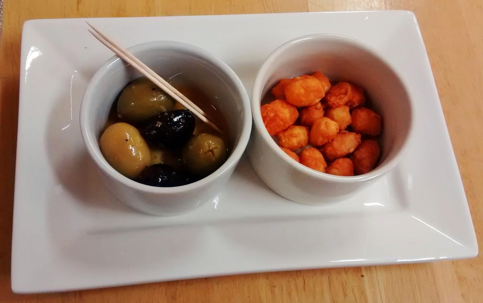 olives, starters