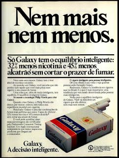 propaganda de cigarros anos 70; oswaldo hernandez;