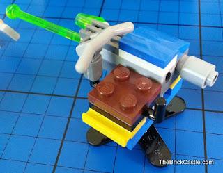 Jurassic World LEGO rotating shooter mobile vet unit