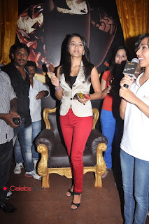 Trisha Latest Pictures in Red Jeans at Magnum Ice Cream New Outlet Launches at Express Avenue Mall, Chennai  0020