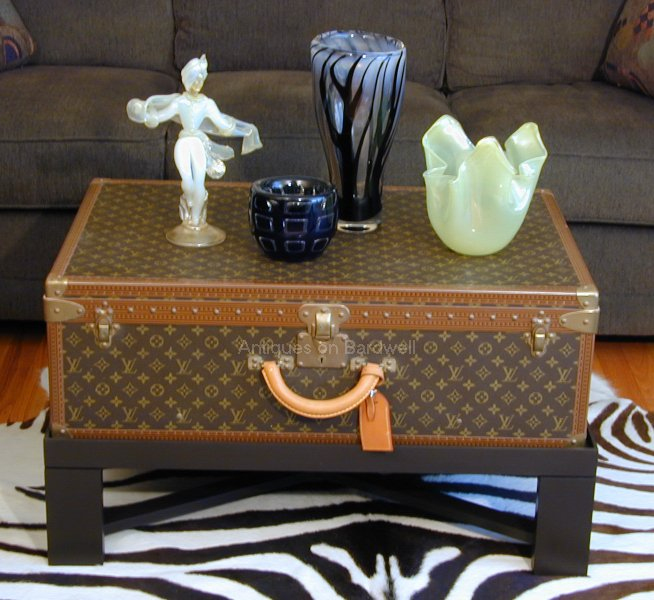 Lv Trunk Coffee Table: Antiques To Modern