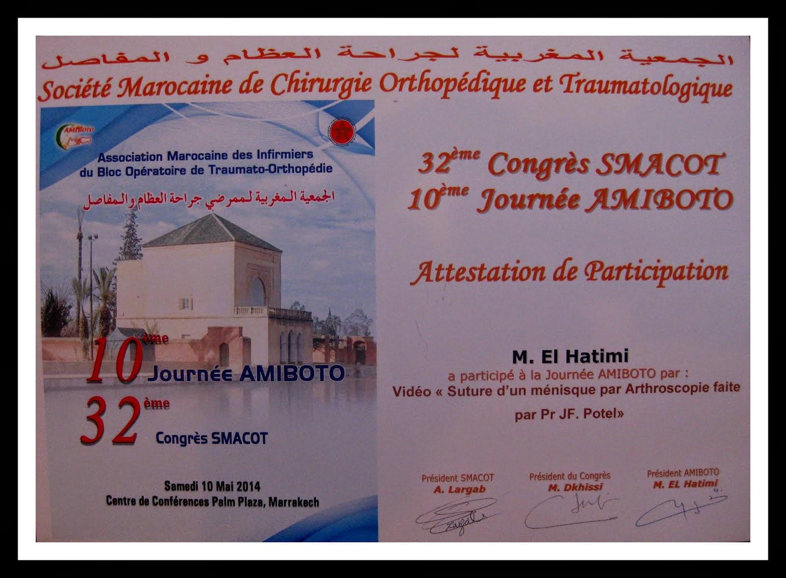 LE H10EME JOURNEE D AMIBOTO AMARRAKEC