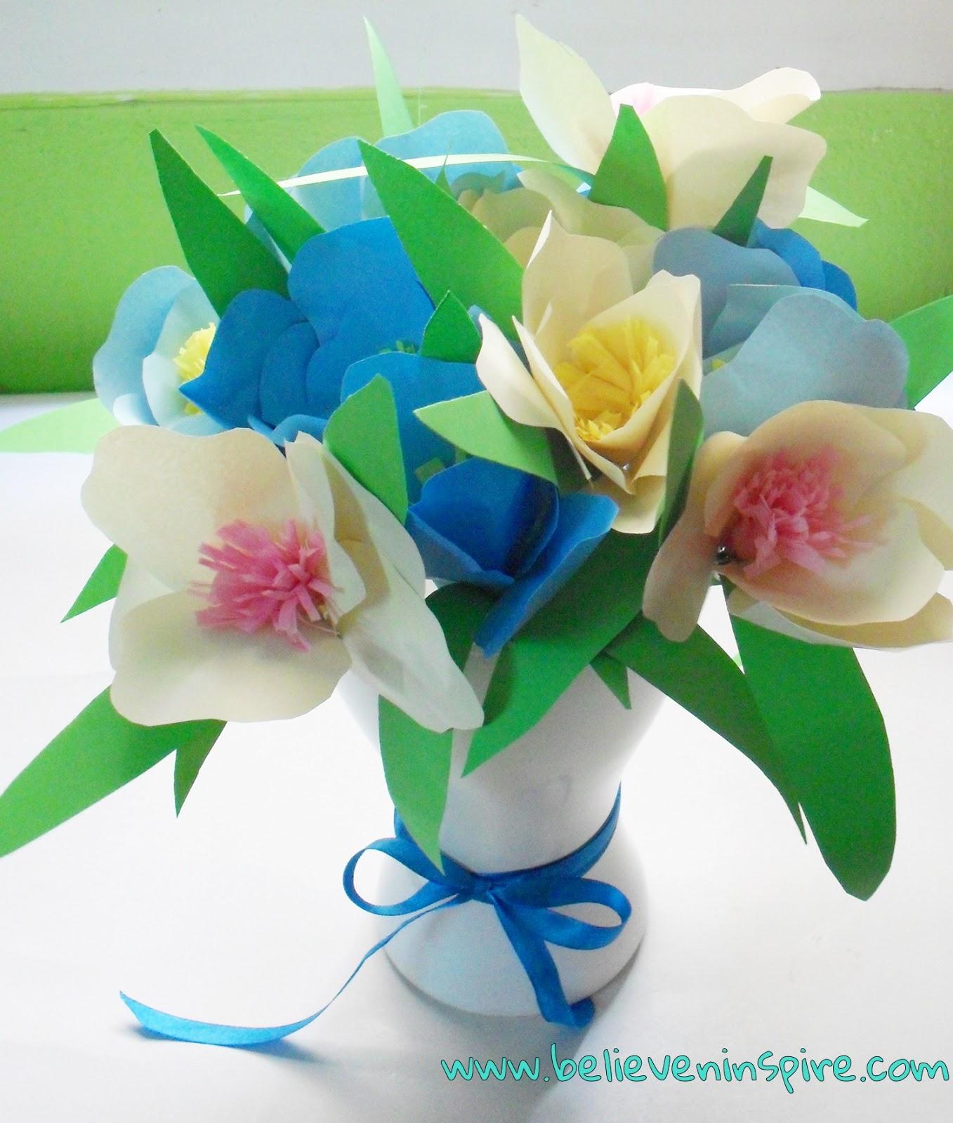 diy spring flower vase