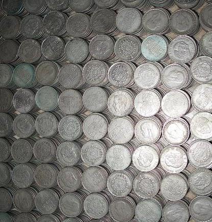 Vi höjde inköpspriserna på silvermynt och silver.