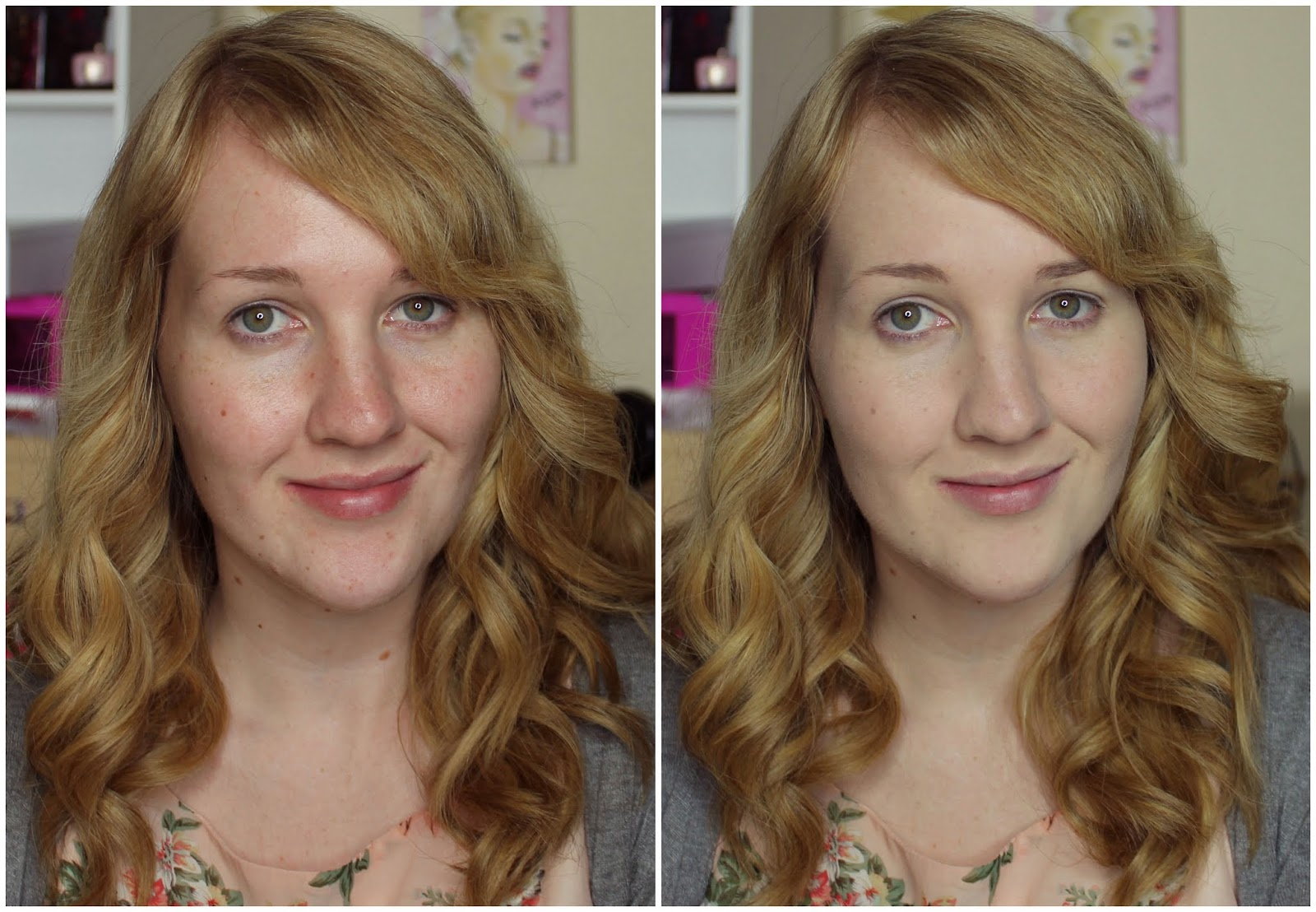 Before & After ZA Total Two-Way Foundation