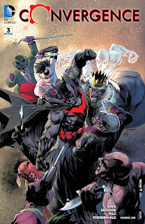 Cover of Convergence #3 from DC Comics