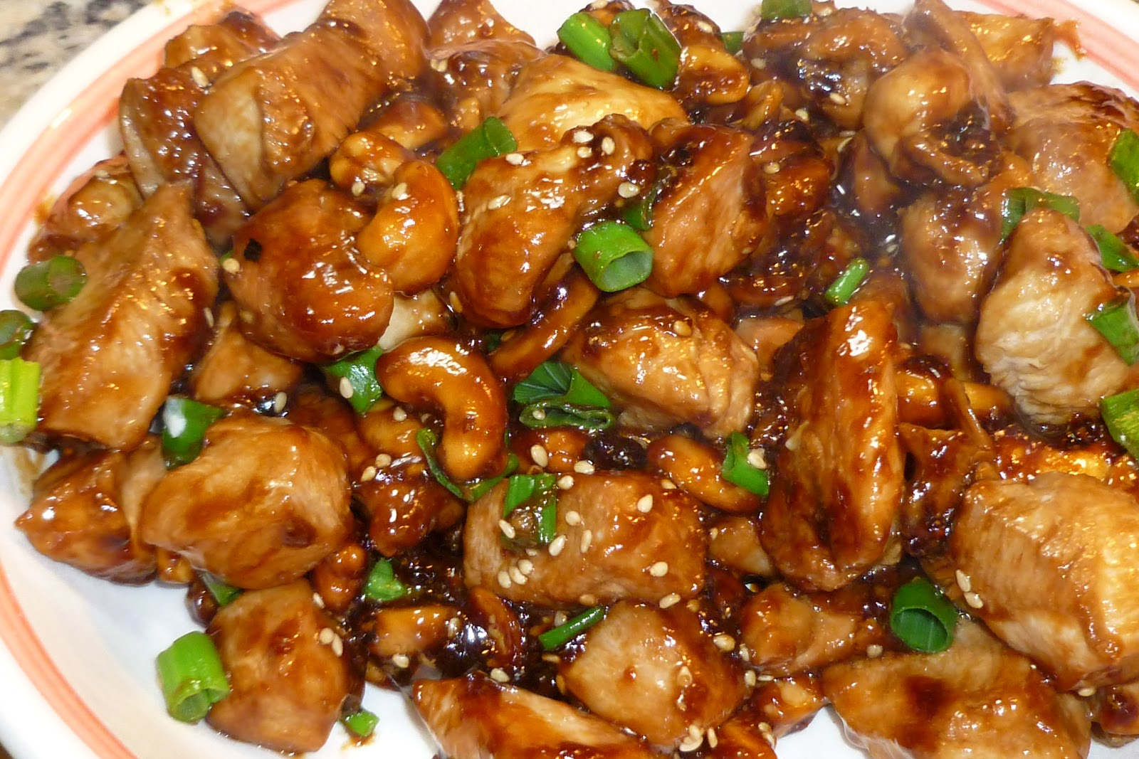 Cashew Chicken - Leftover Chicken with Cashews in Spicy, Sweet & Sour ...