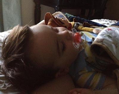 Sleeping-ish Baby