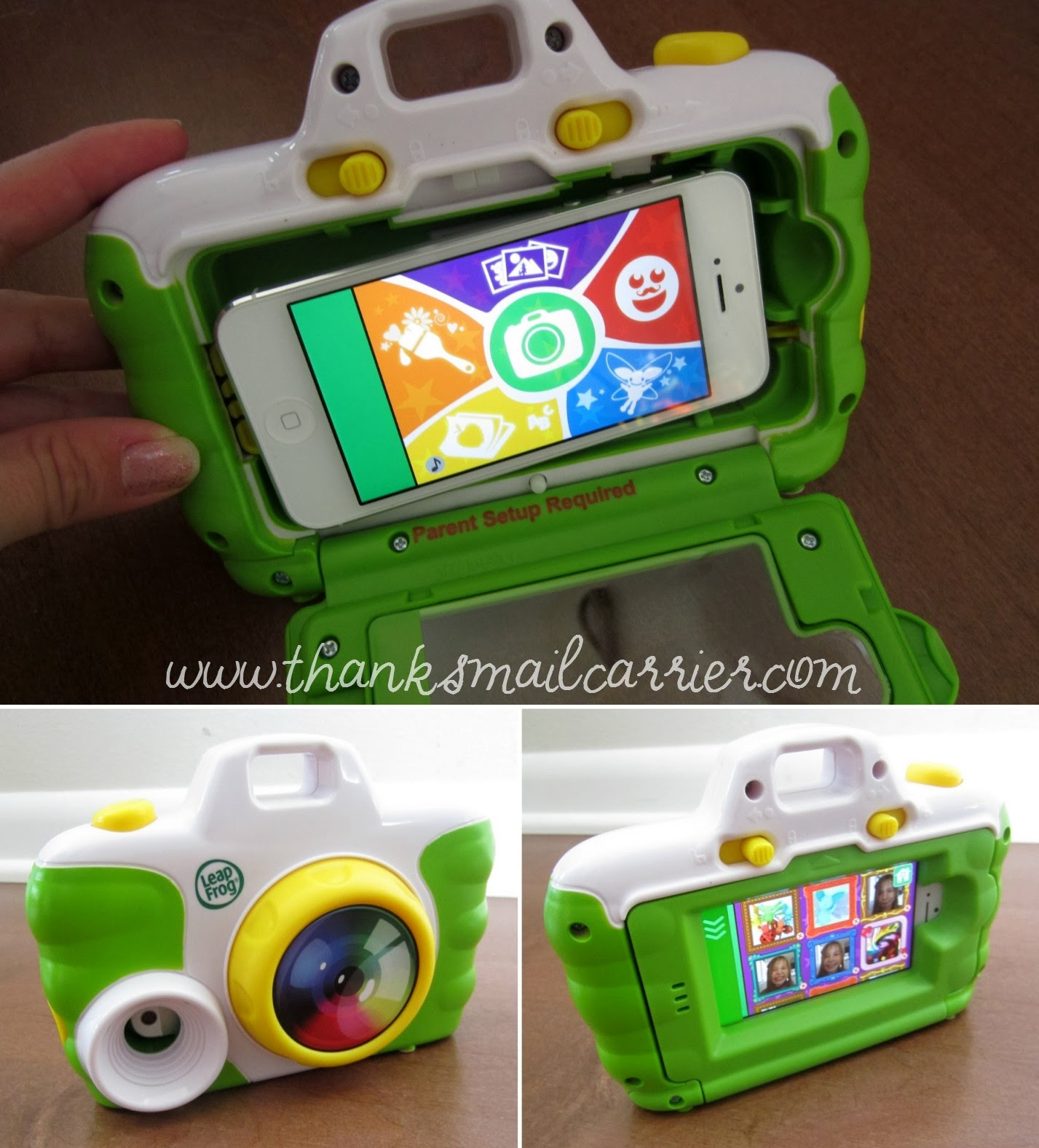 LeapFrog creativity camera assembly