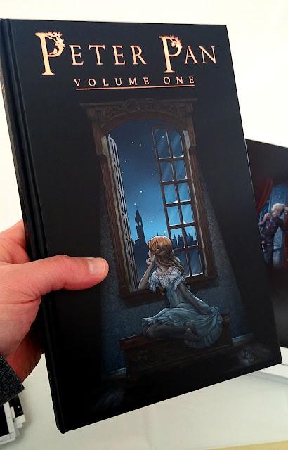 peter pan graphic novel pdf