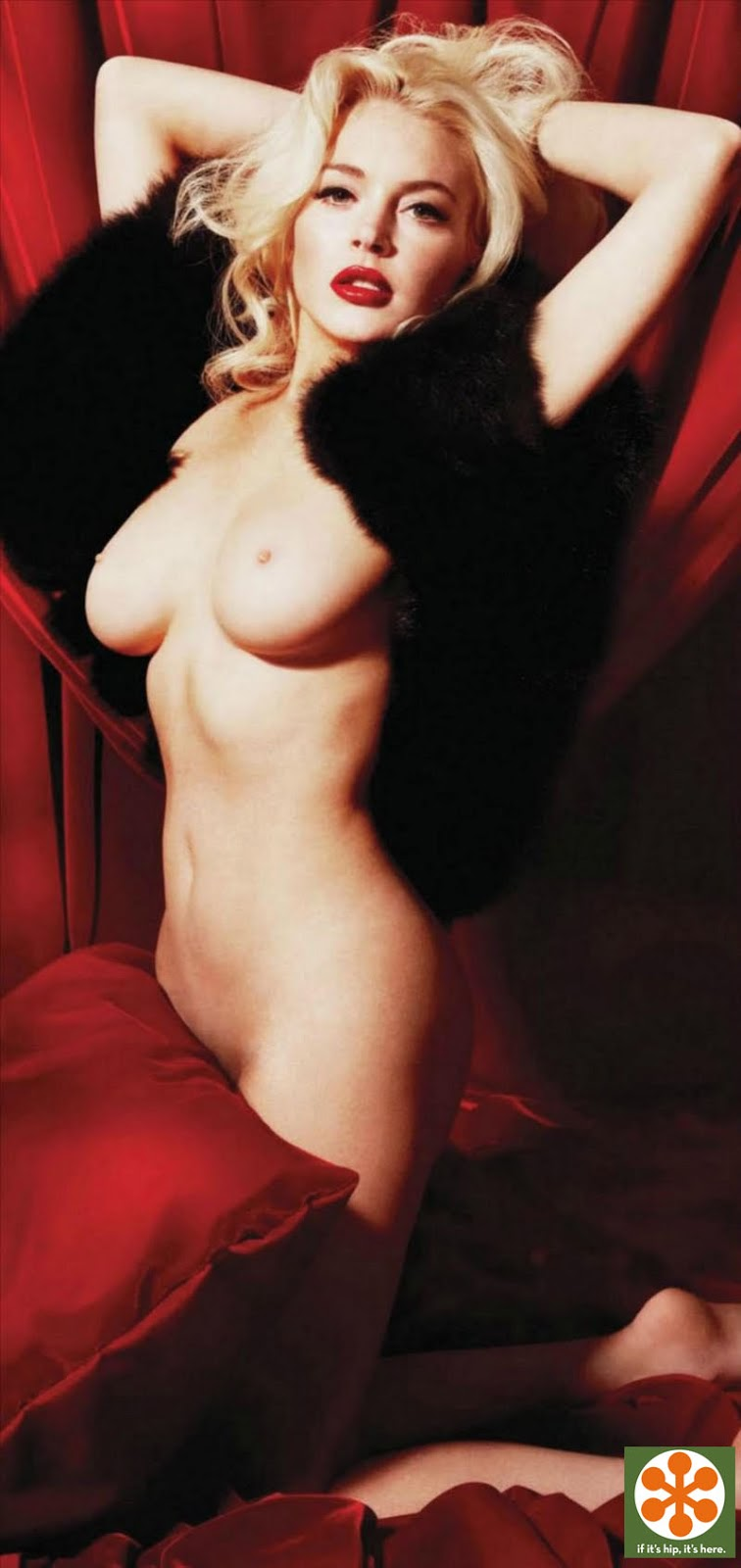 Lindsay lohan nude marilyn munroe photo shoot