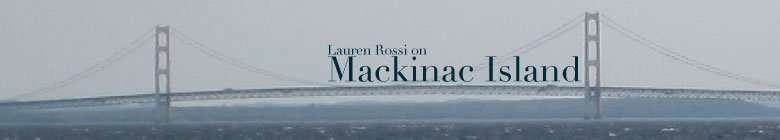 Lauren Rossi on Mackinac Island