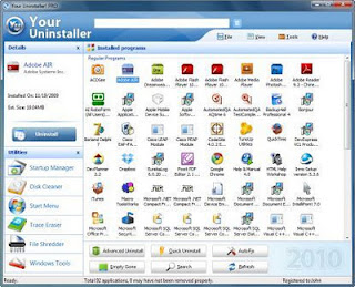 Your Uninstaller! Pro 7.5. 2012 Full Serial