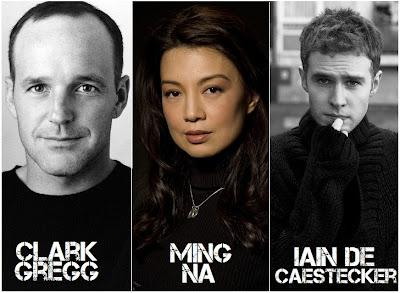"Noticias y curiosidades de ""Marvel Agents of SHIELD"" Clark+gregg+ming+na+iain+de+caesterdecker"