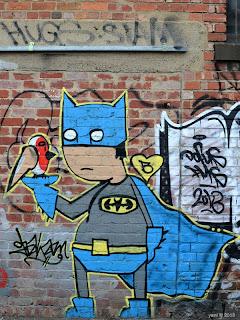 batart and street robin