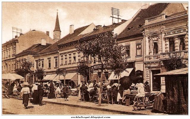 Piata animata din Cluj