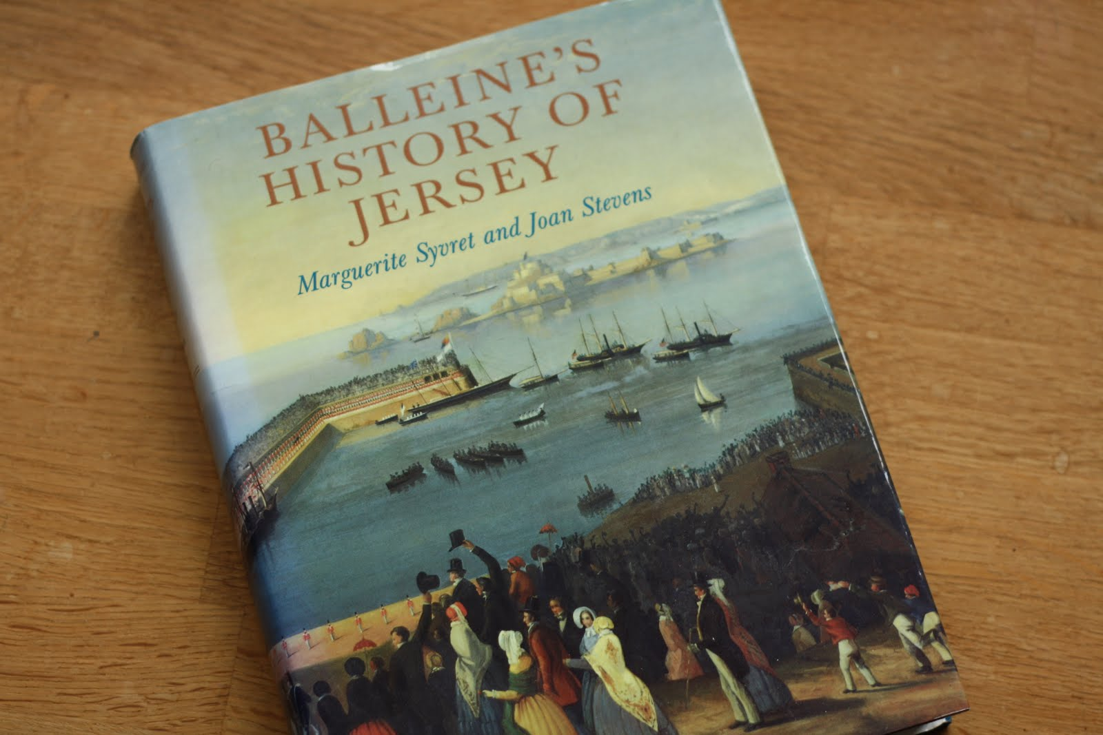 # 32 Read Balleine's History of Jersey
