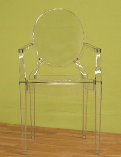 Transparent Ghost Chair