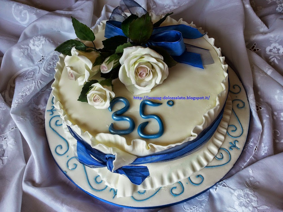 le torte di lorena e non solo torta 35 anniversario
