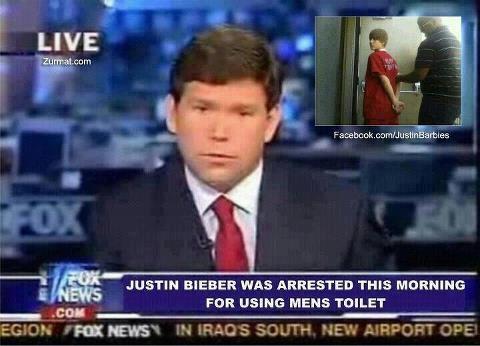 Justin Bieber Troll