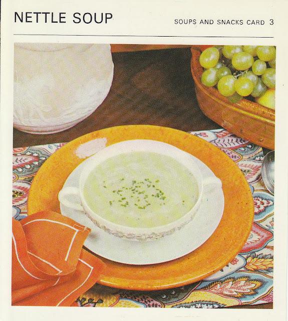Recipe vintage 2013 nettle soup 1960s marguerite patten recipe cards forumfinder Images