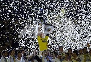 مراسيم تتويج ريال مدريد بلقب الدوري الاسباني الليغا 2012