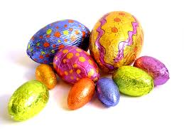 páscoa, chocolate, ovos