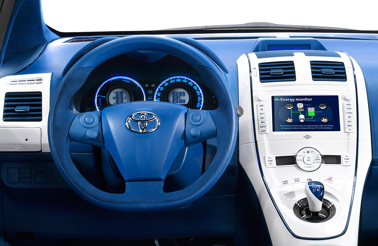 Zoom In Cars Toyota Auris Hybrid Solar Panel Car Read More