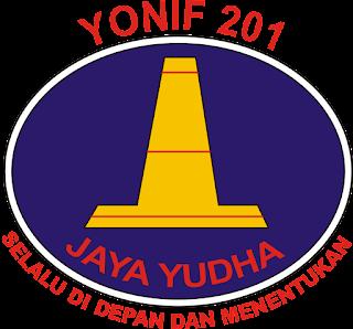 Logo Yonif 201 Jaya Yudha