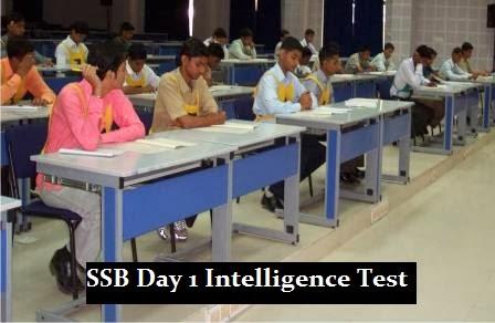 SSB Day 1 intelligence test OIR