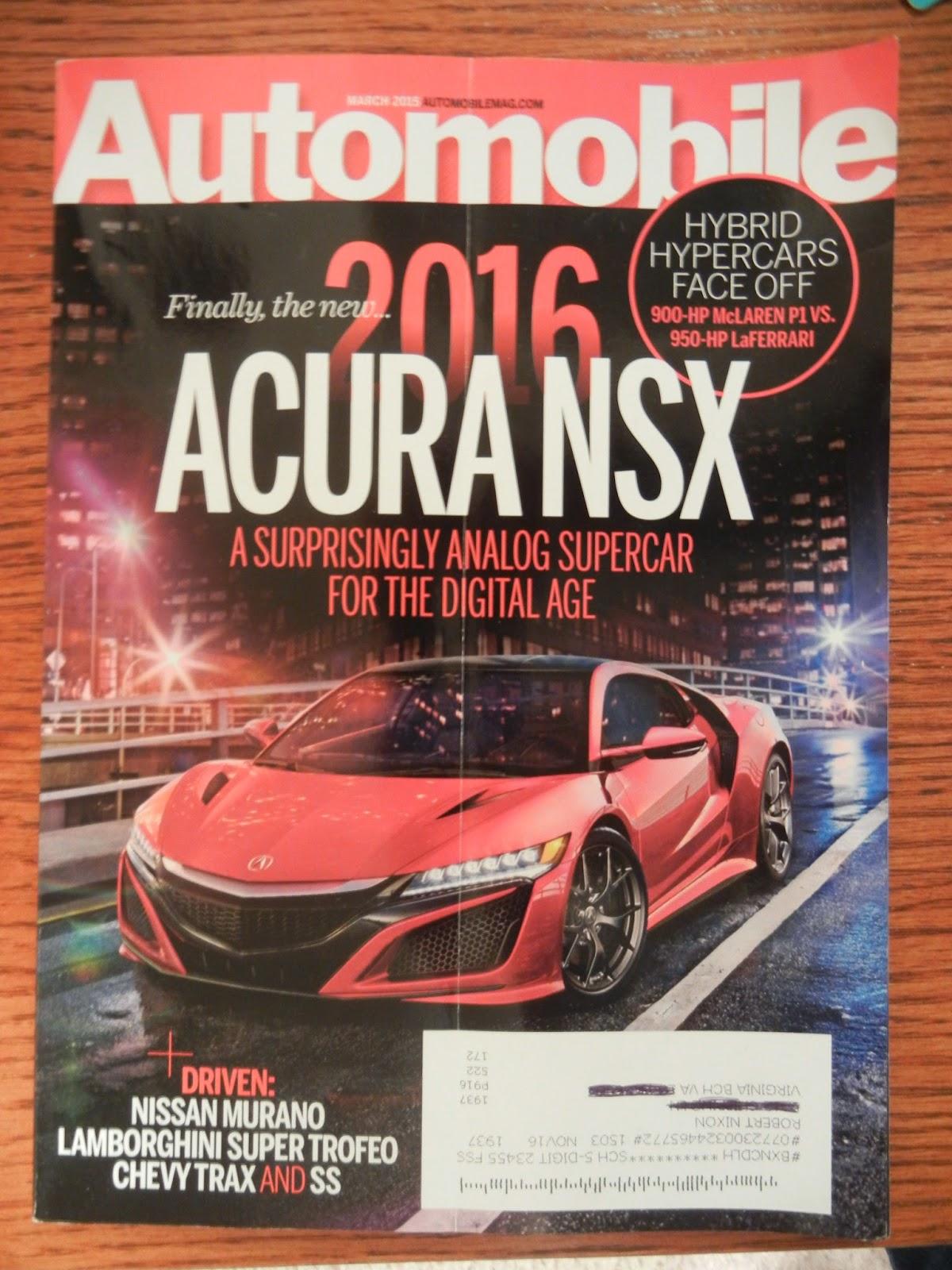 Nixon Motor Sports Car Magazine Update - Sports cars magazine
