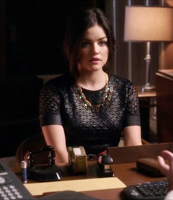 "Aria's Diane von Furstenberg New Cindy Lace Dress Pretty Little Liars Season 3, Episode 22: ""Will the Circle Be Unbroken?"""