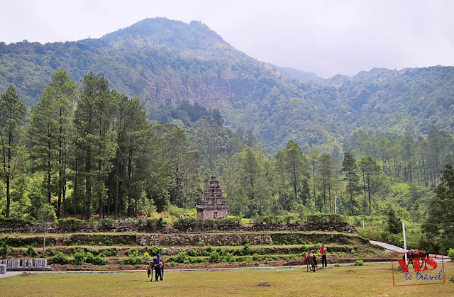 Candi Gedong Songo Java Indonesia