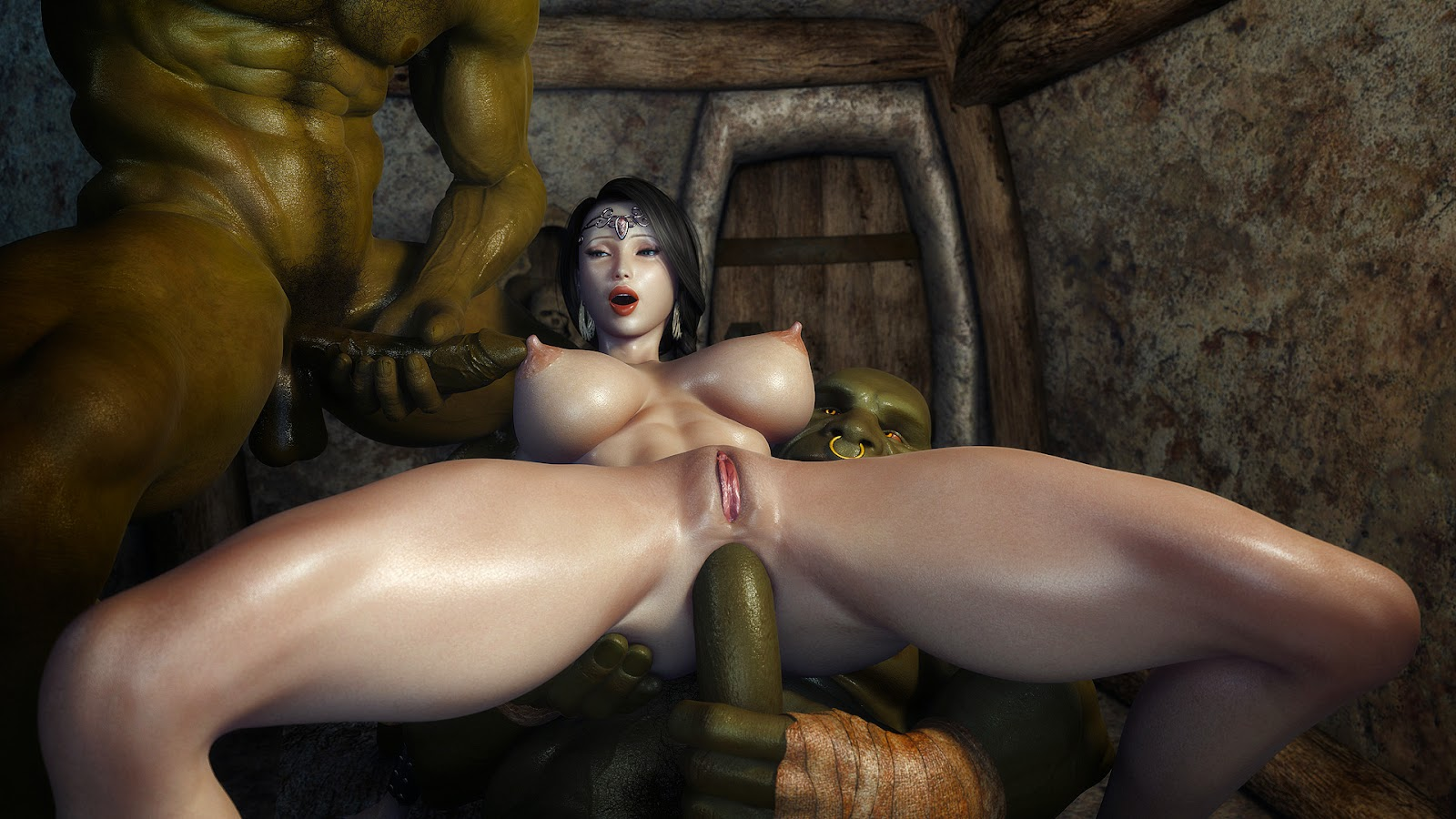 Ogre porn video exposed clips