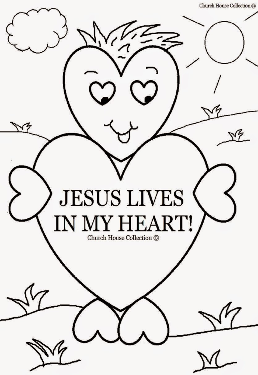 sunday school coloring pages printable - photo#11