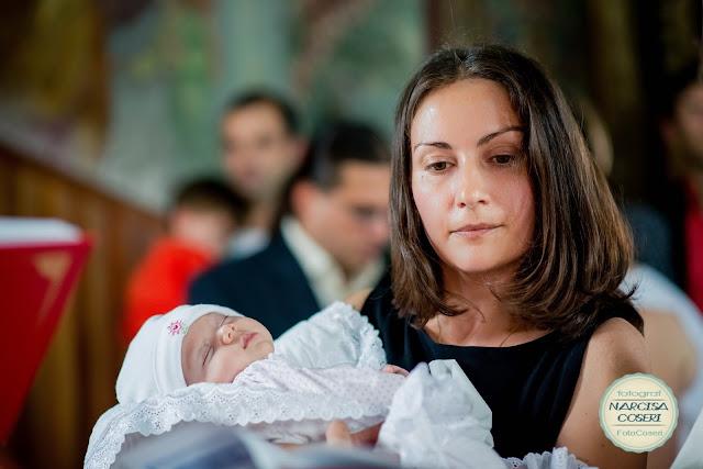 Fotografii botez Iasi, Botezul Laurei