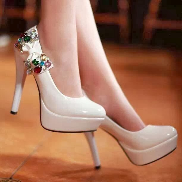 Adorable Patent Leather Heeled Shoes with Cute Band..For Parties..Love It