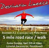 New 5 mile race in Limerick...Sun 5th Apr 2015