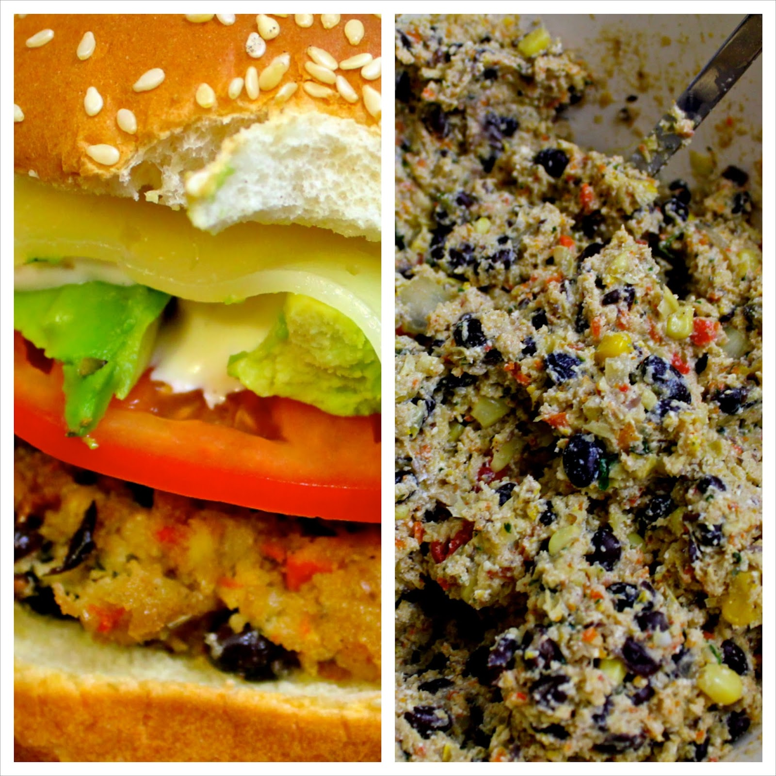 Charleston's Chew: Black Bean Burgers with Cilantro Lime ...