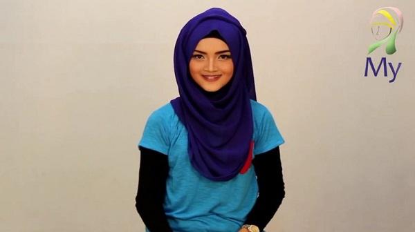Tutorial Hijab Pashmina Imut Lucu Stylish Modis By Mybamus