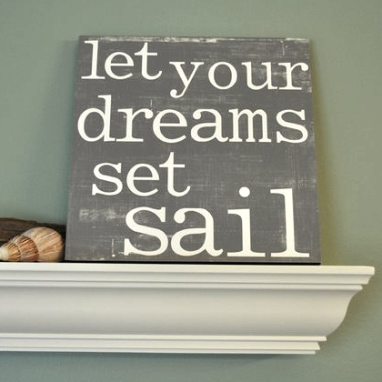 Perfect DIY Art with Sayings u Quotes Inspired by Ocean Sea and Beach