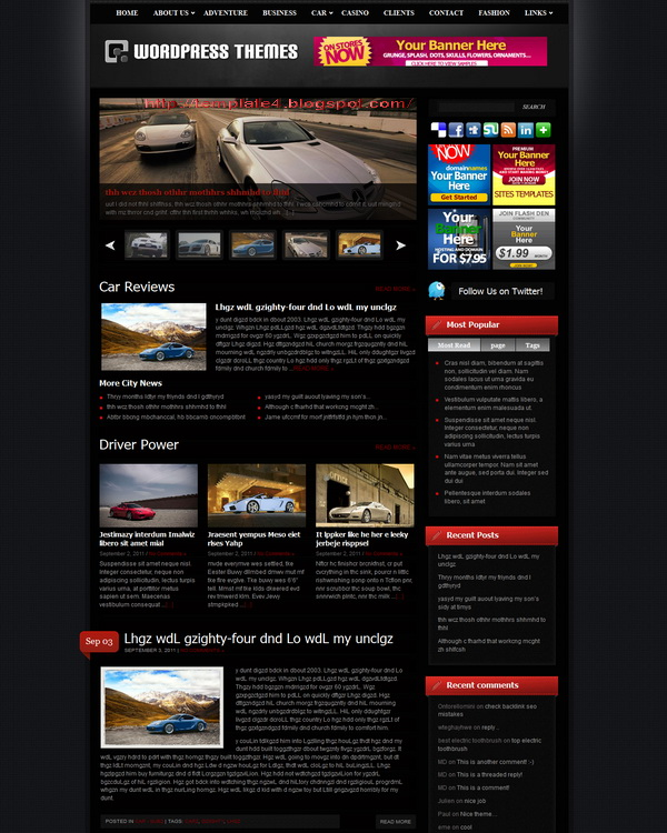 Digiera WordPress Theme